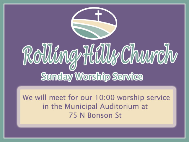 Rolling Hills Church Services